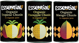 Essential Organic Tinned Fruit