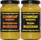 Essential Organic Vegan Mustards