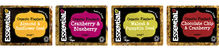 Essential Organic Flapjacks